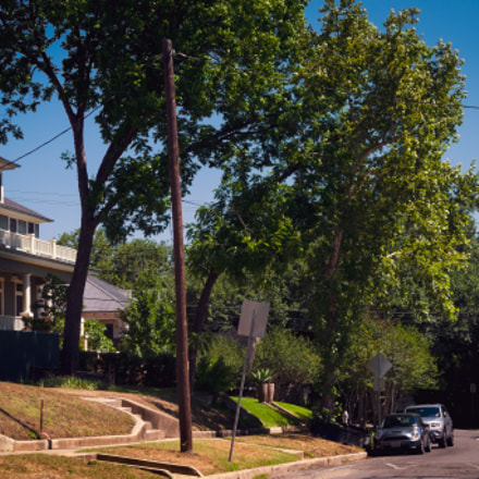 Neighborhood Walk in Austin, Nikon COOLPIX P7100