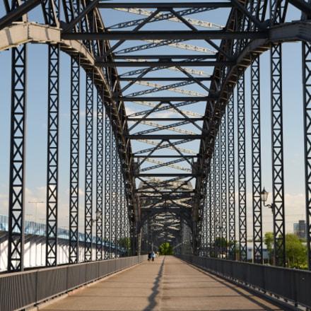 Old Harburg Elbe Bridge, Nikon D5100, Sigma 17-70mm F2.8-4 DC Macro OS HSM