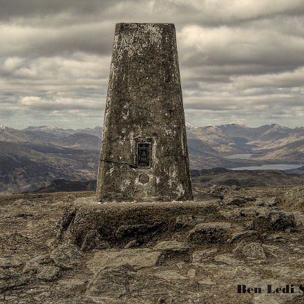 Ben Ledi Summit, Nikon COOLPIX L16
