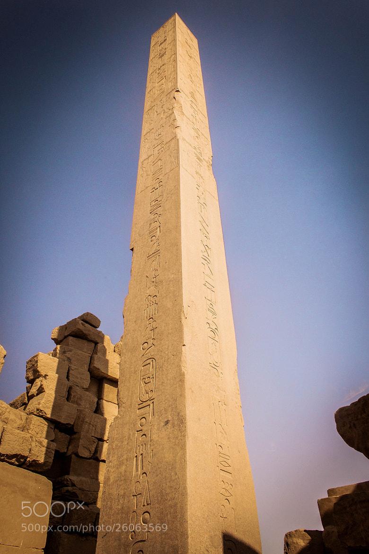 Photograph The Obelisk by Mohamed Hegazi on 500px