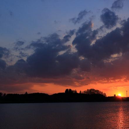Sundown, Canon EOS KISS X7, Canon EF-S 24mm f/2.8 STM