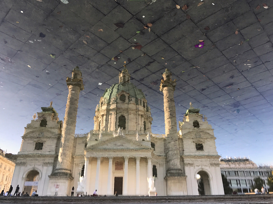 Karlskirche by Reinhard A. Deutsch on 500px.com