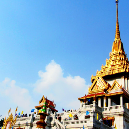 land of gold pagoda, Canon POWERSHOT SX220 HS