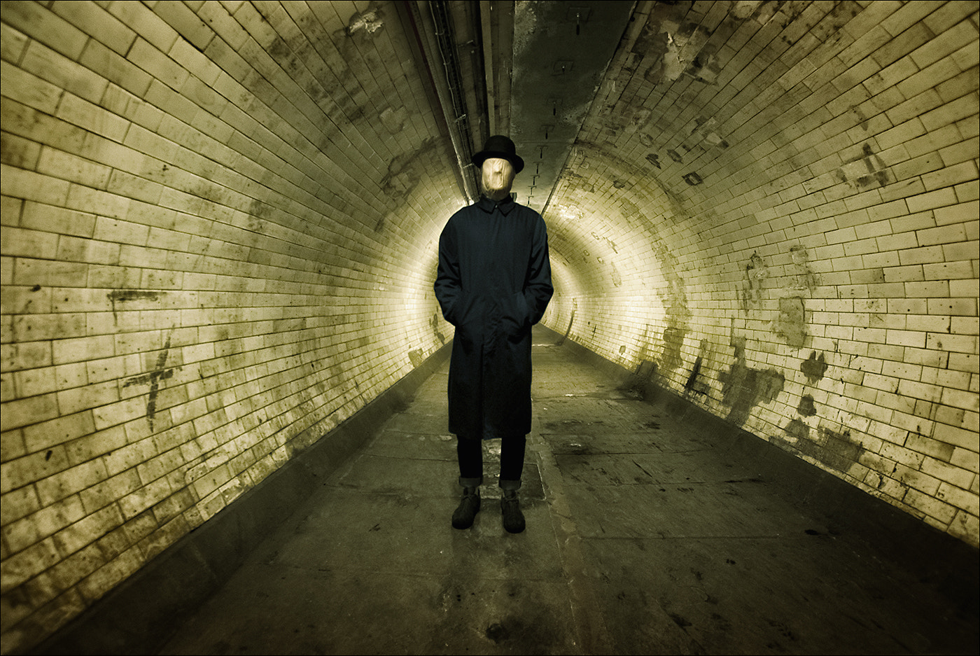 Photograph The Man with Tunnel Vision by Gary Howells on 500px