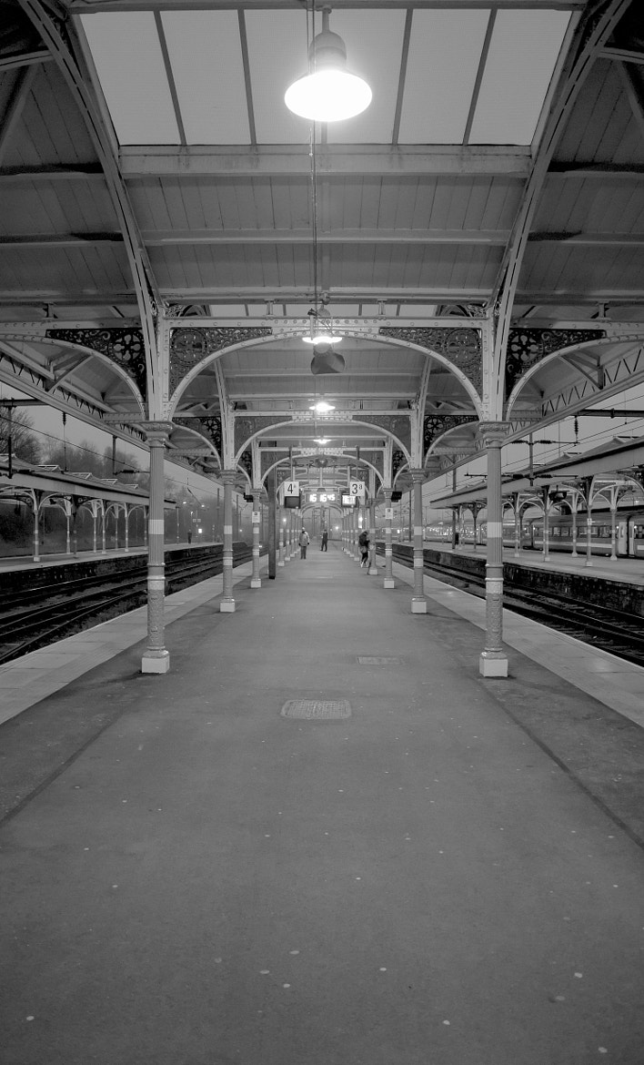 Photograph On the Platform by Stephen Gallazzi on 500px