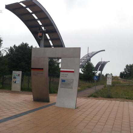 Shengen Polish-German border, Samsung Galaxy S2
