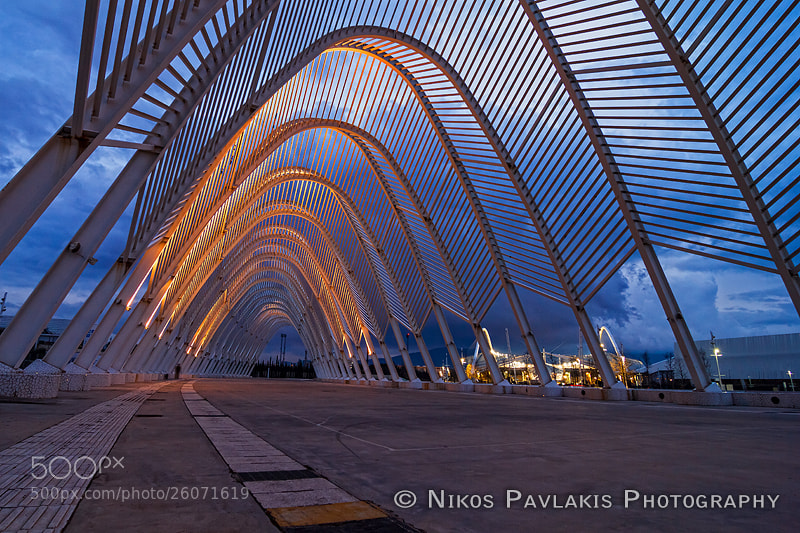 Photograph Athens Olympic Sp by Nikos Pavlakis on 500px