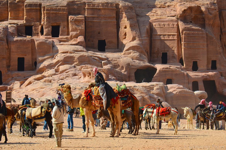 Photograph Fachadas en Petra by Giovanny Parra on 500px