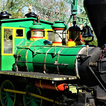 Steam Locomotive, Sony ILCE-6000, Sony E 18-55mm F3.5-5.6 OSS