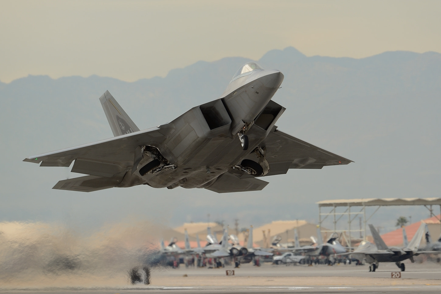 Photograph Hawaii ANG F-22 Raptor by leadingedgeimages on 500px