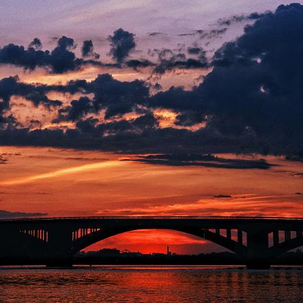 Summer sunset, Sony DSC-R1
