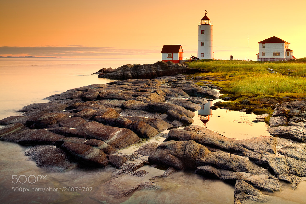 Photograph Ile Verte Lighthouse at dawn by Pietro Canali on 500px