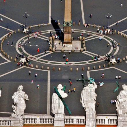 San Pietro, Vaticano, Fujifilm FinePix S5500