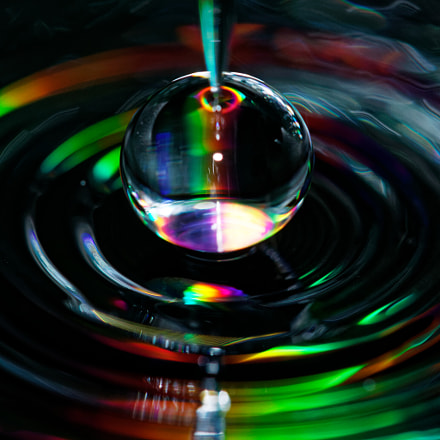 Colorful Black Water, Canon EOS REBEL T7I, Canon EF 100mm f/2.8L Macro IS USM