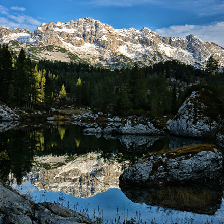 Slovenia, Triglav lake, Canon EOS 750D