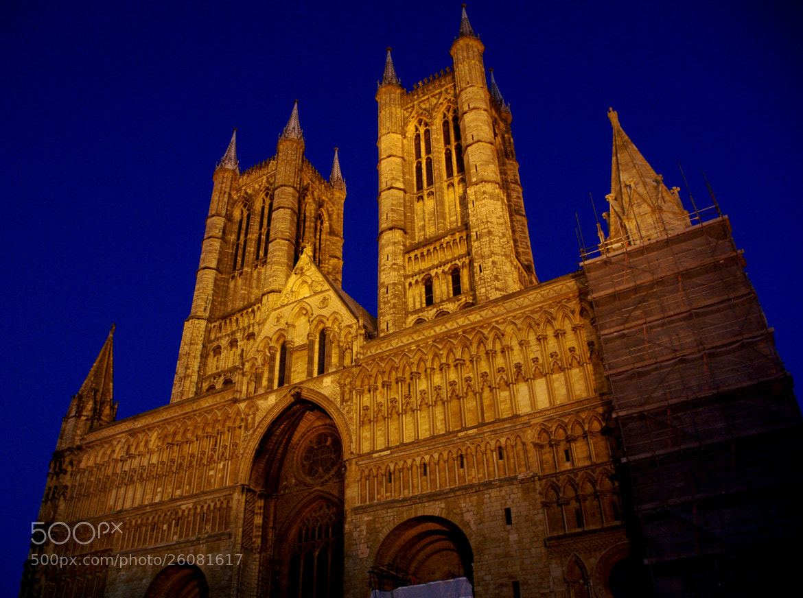 Photograph Lincoln Cathedral  England by Bob Riach on 500px