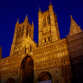 Lincoln Cathedral  England by Bob Riach (Bob-Riach)) on 500px.com