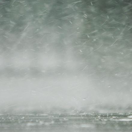 Heavy rain, Nikon COOLPIX L310