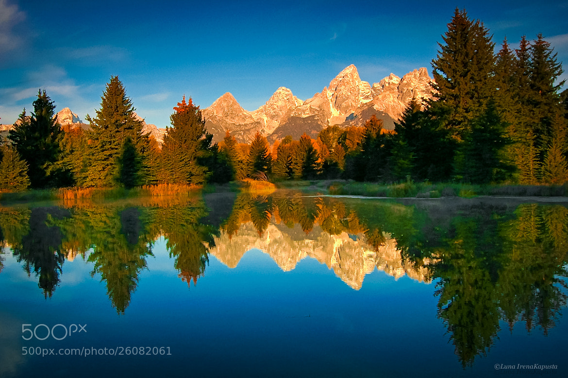 Photograph Grand Teton by Irena  Kapusta on 500px
