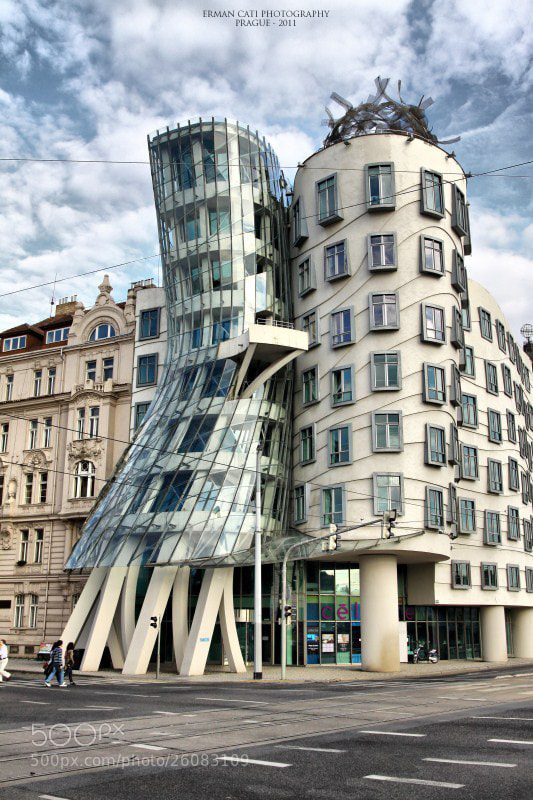 Photograph The Dancing House by Erman Çatı on 500px