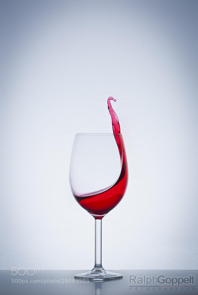 Photograph The Wine says HELLO by Ralph Goppelt on 500px
