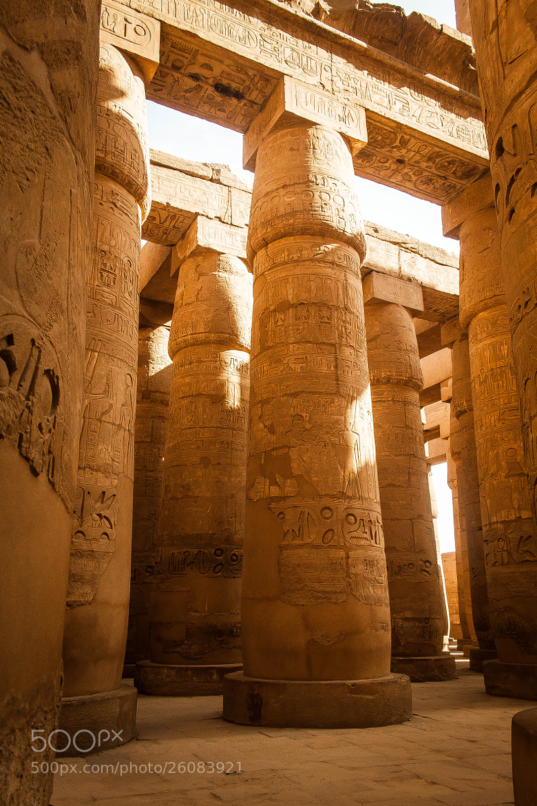 Photograph Egyptian Temple by Mohamed Hegazi on 500px
