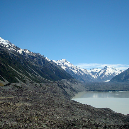 Tasman glacier lake in, Sony DSC-W90