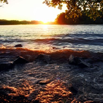 Dnipro river, Sony DSC-R1