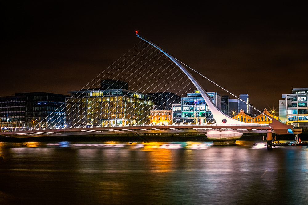 Photograph Samuel Beckett Bridge by Henry French on 500px