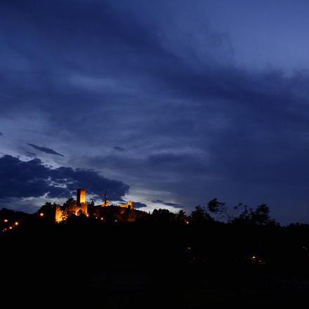 Castell'Arquato al tramonto, Nikon D7100, Sigma 10-20mm F3.5 EX DC HSM
