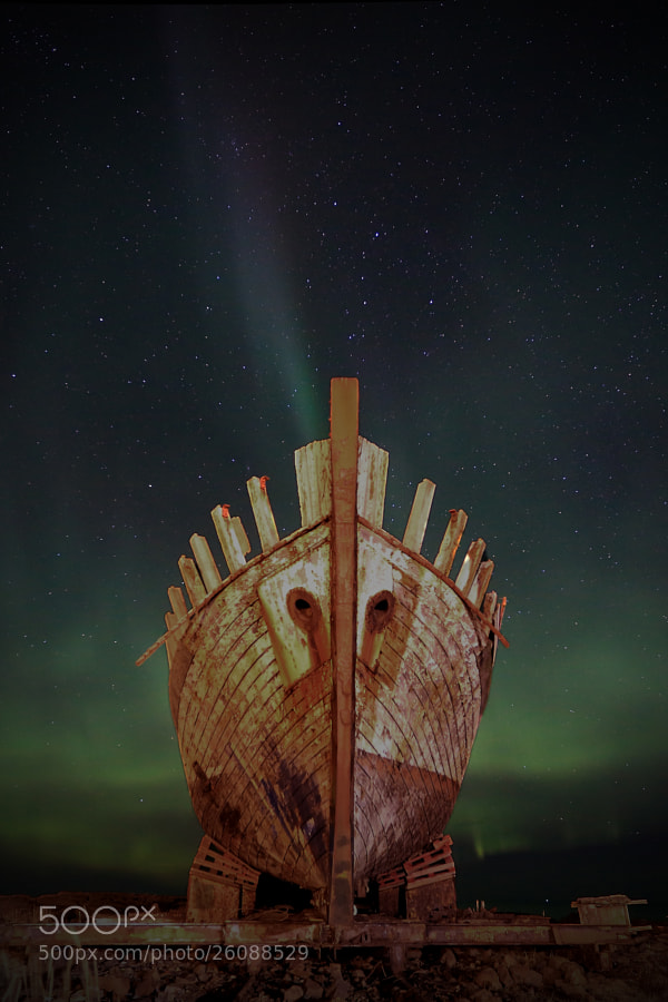 Photograph The Ghost ship by Jon Hilmarsson on 500px