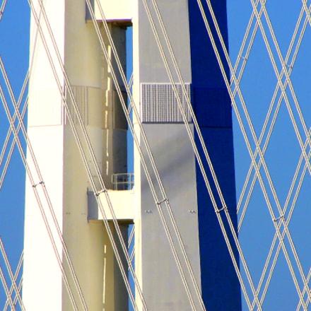 San Francisco-Oakland Bay Bridge, Canon EOS REBEL T3I, Tamron 18-250mm f/3.5-6.3 Di II LD Aspherical [IF] Macro