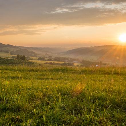 Valachy sunset, Canon POWERSHOT G9 X