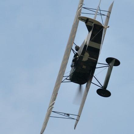 Fokker D.VII, Nikon D300S, Sigma APO 100-300mm F4 EX IF HSM