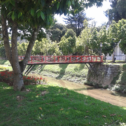 Bridge in Petropolis Brazil, Samsung Galaxy Win