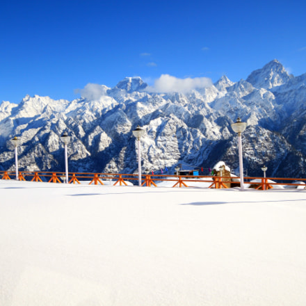 View from Auli, Canon EOS 500D, Sigma 10-20mm f/4-5.6