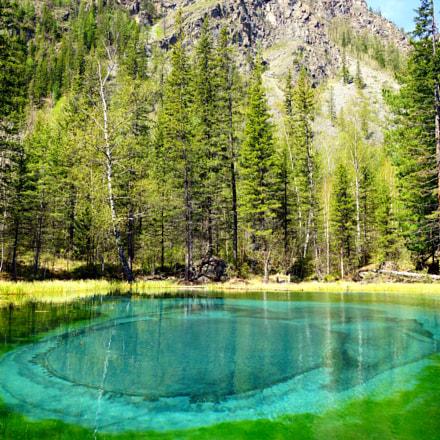 geyser lake, Sony SLT-A77, Sony DT 16-50mm F2.8 SSM (SAL1650)