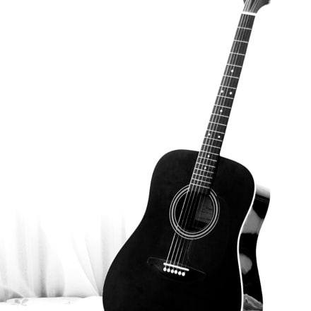 Guitar, Canon EOS 40D, Canon EF 50mm f/1.8 II