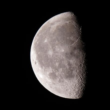 Moon 2018-06-05, Canon EOS REBEL T7I, Canon EF 100-400mm f/4.5-5.6L IS II USM
