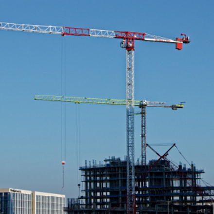 Tower Crane Duo, Canon EOS REBEL T7I, Canon EF-S 18-135mm f/3.5-5.6 IS STM