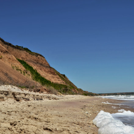 Sandy cliffs, Nikon D5100