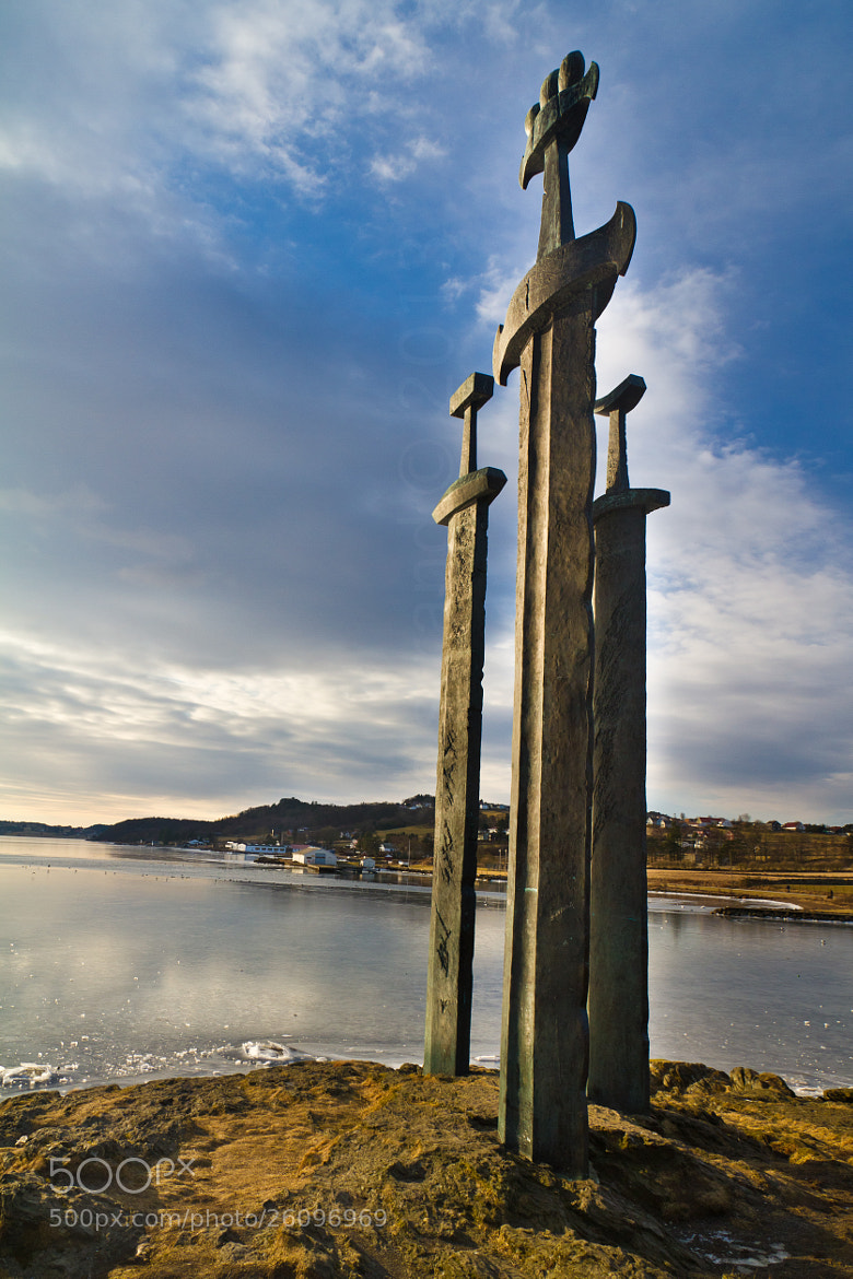 Photograph Three Swords - Hafrsfjord by Daniel Solstrand on 500px