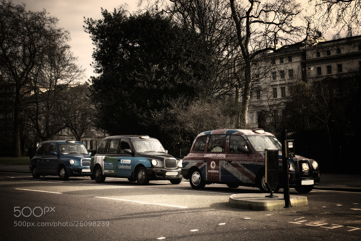 Photograph London taxis by Magdalena Warmuz-Dent on 500px