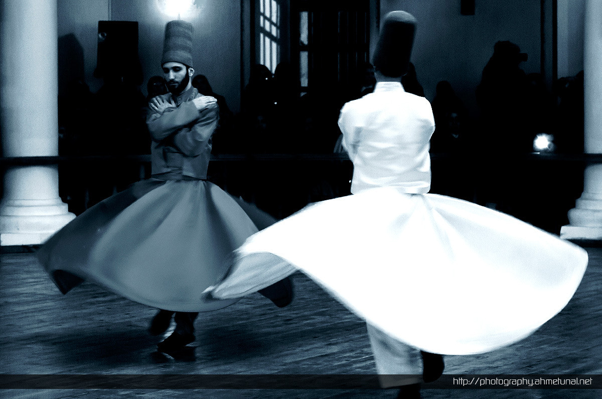 Photograph Sama by Whirling Dervishes  by Ahmet Ünal on 500px