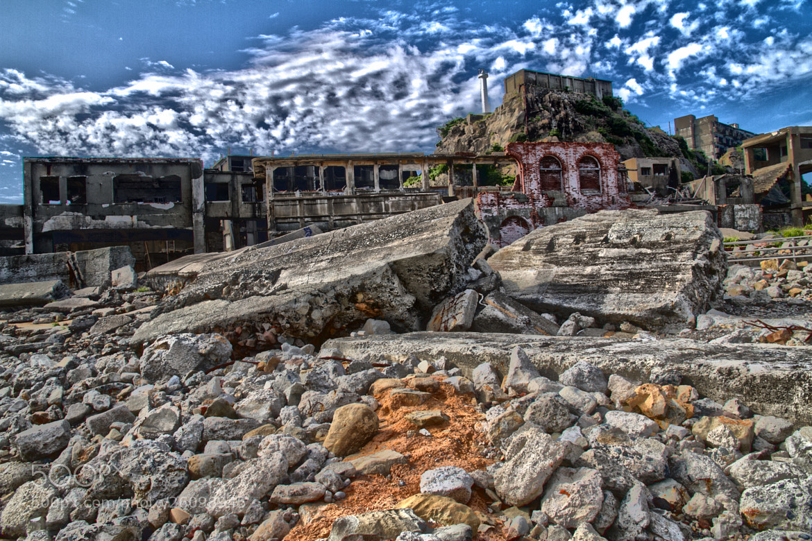 Photograph The abandoned Ioujima Island by Daniel Solstrand on 500px