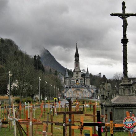 Lourdes Sanctuary, Canon POWERSHOT A460