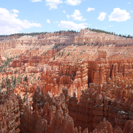 Bryce Canyon National Park, Canon EOS REBEL T6I, Canon EF-S 18-55mm f/3.5-5.6 IS STM