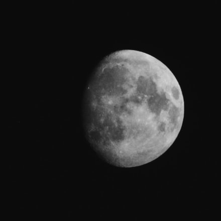 Moon, Canon POWERSHOT SX400 IS