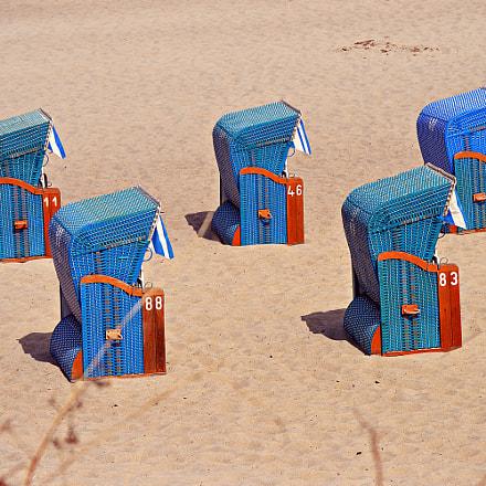 Strandkorb / Wicker Beach Chair, Nikon D3200, AF-S DX Zoom-Nikkor 55-200mm f/4-5.6G ED