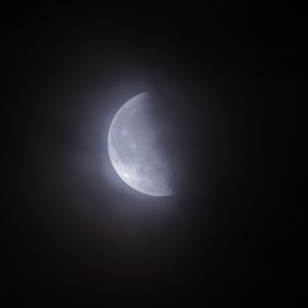 Ethereal Moon, Canon EOS REBEL T7I, Canon EF 100-400mm f/4.5-5.6L IS II USM